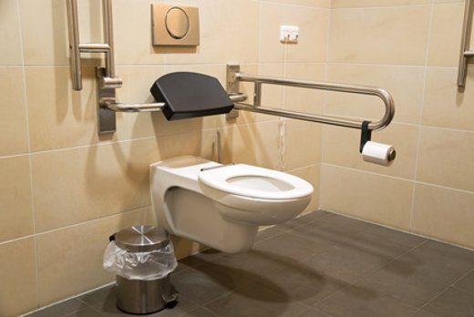 Ausstattung barrierefreies WC © flshpics, fotolia.com