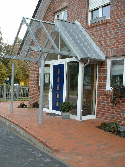 Barrierefreier Hauseingang © Verband Privater Bauherren