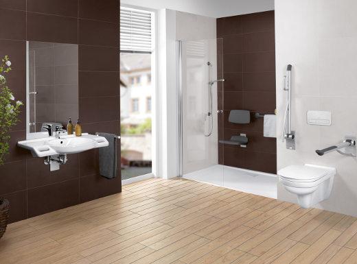 Barrierefreies Badezimmer © Villeroy & Boch
