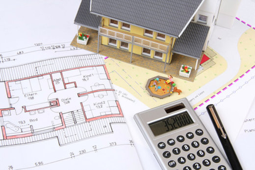 Vorausschauend planen beim Hausbau © Marina Lohrbach, fotolia.com