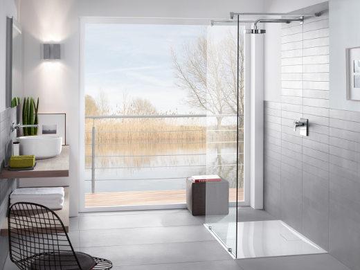 Bodengleiche Dusche © Villeroy & Boch