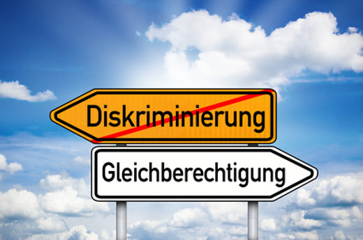 Gleichberechtigung statt Diskriminierung © stockWERK, fotolia.com