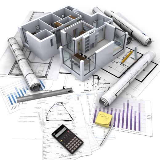Architektur Pläne © Franck Boston, fotolia.com