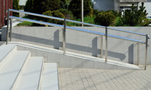 Barrierefreie Umbau: Außenraum