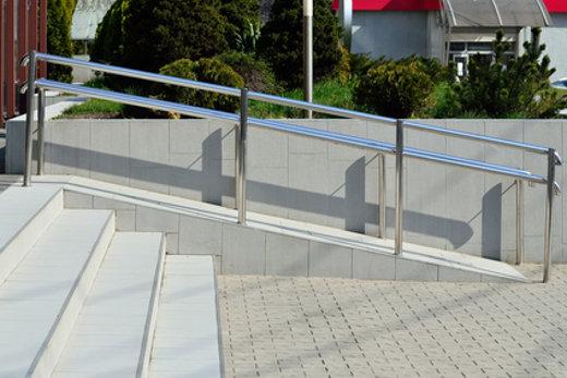 Barrierefreie Rollstuhlrampe © Svt, fotolia.com