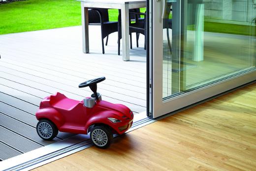 Schwelle kind- und behindertengerecht © ALUMAT-Frey GmbH