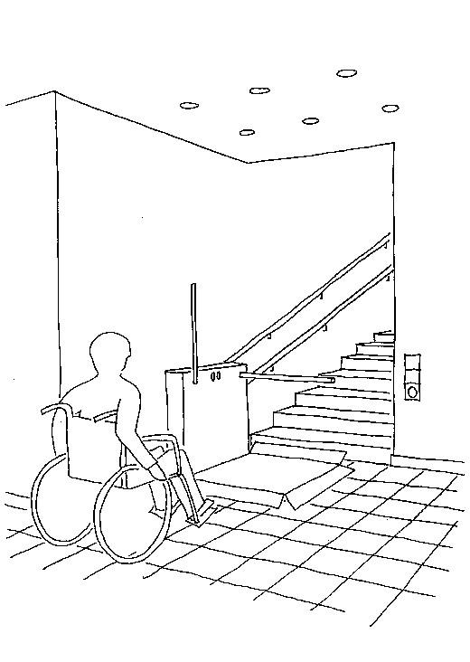 Treppenlift Grafik © Verband privater Bauherren e.V.
