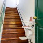 Rückbau eines Treppenliftes